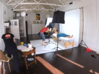 Video of the Jing book photo shoot