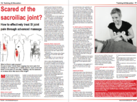 Scared of the sacroiliac joint? How to effectively treat SI joint pain through advanced massage by Rachel Fairweathet for CHW Magazine