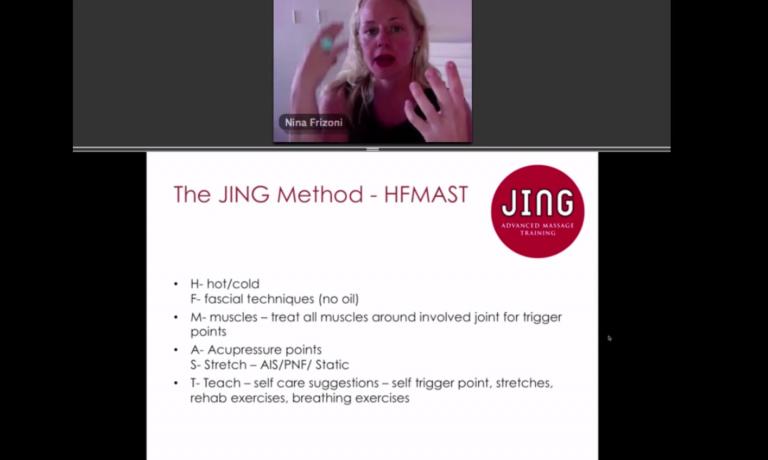 Jing Massage & camexpo webinar