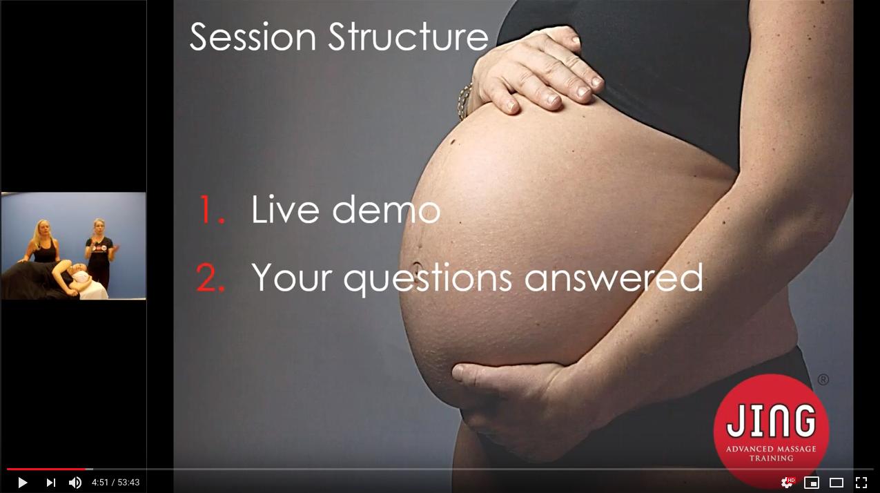 Pregnancy Massage with Jing Massage & Dermalogica