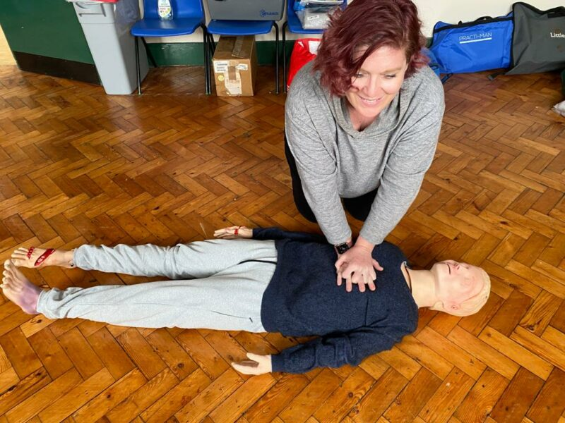 First aid at work for massage therapists