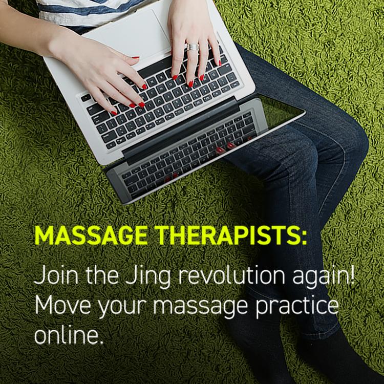 Online massage practice