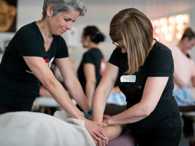 A FREE online massage tutorial: Partner Massage